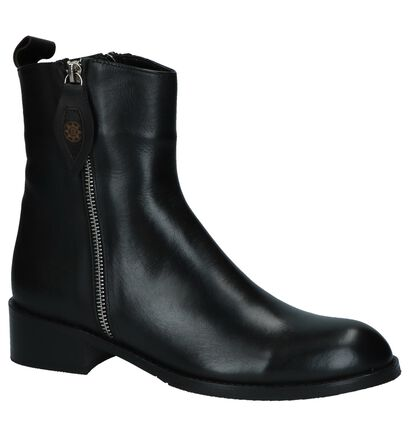 Baboos Boots Zwart in leer (235325)