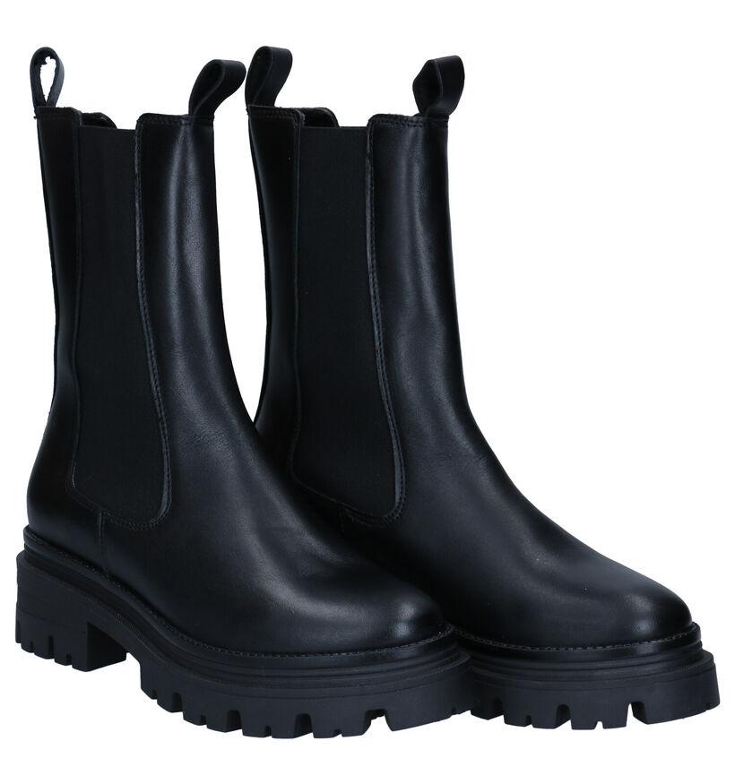 Tamaris Beige Chelsea Boots in nubuck (297073)