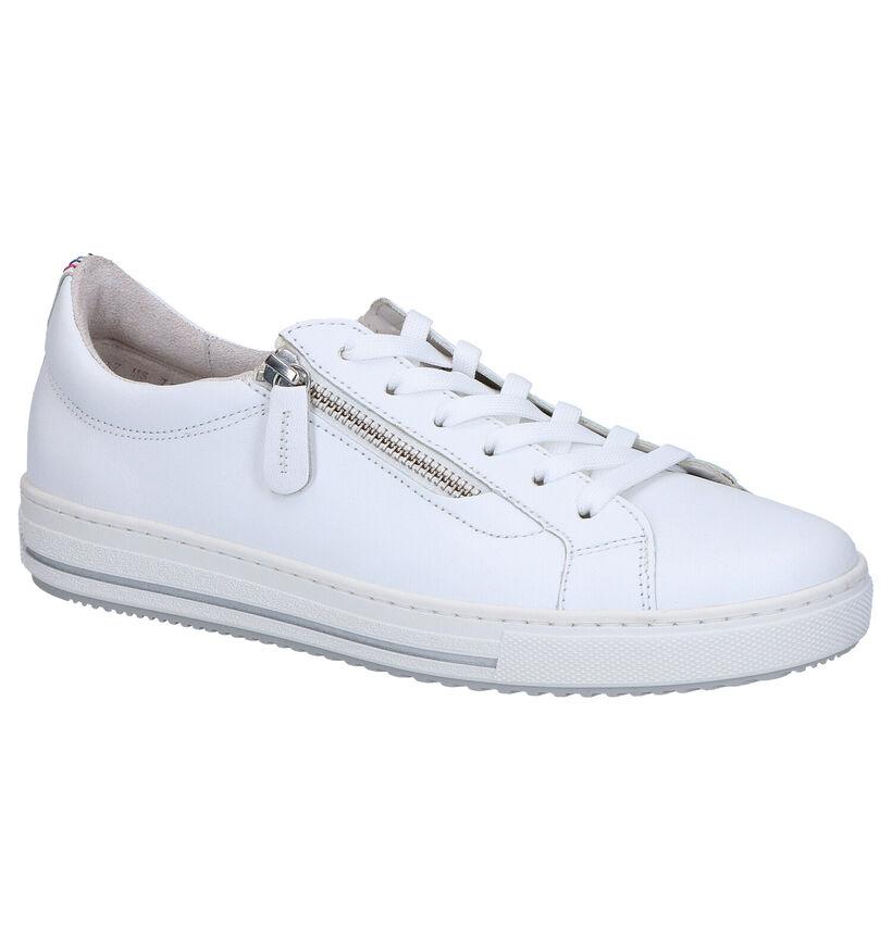Gabor OptiFit Chaussures à Lacets en Blanc en cuir (271709)