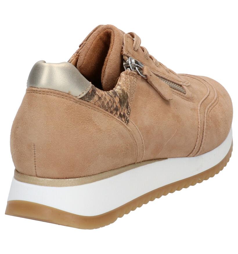 Gabor OptiFit Chaussures à lacets en Cognac en daim (271535)
