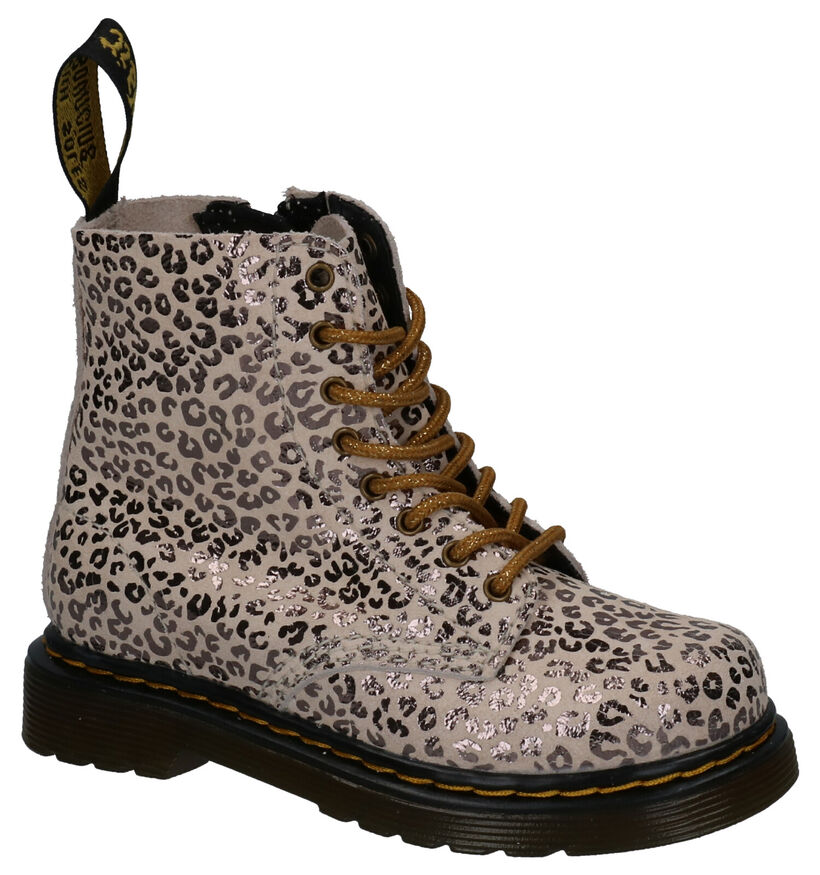 Dr. Martens 1460 Pascal J Beige Boots in nubuck (265701)