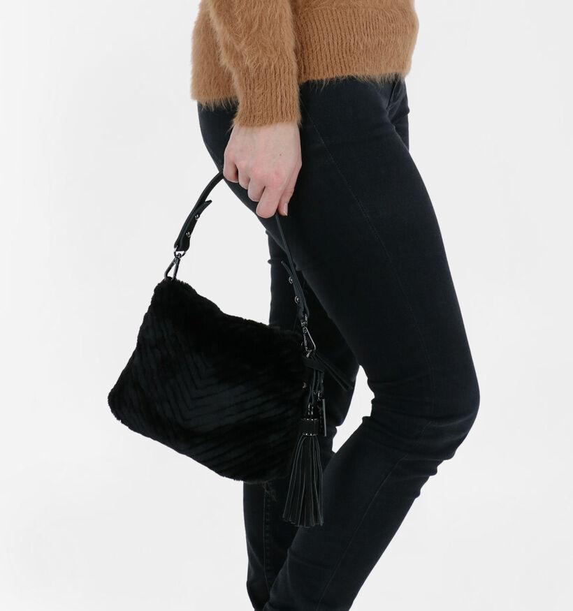 Tamaris Bettina Sac à main en Noir en textile (280620)