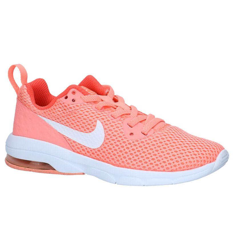 Nike Air Max Motion LW PS Oranje Sneakers in stof (219624)