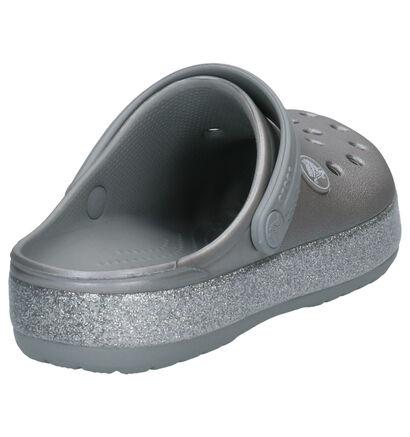Crocs Crocband Glitter Paarse Slippers in kunststof (255720)