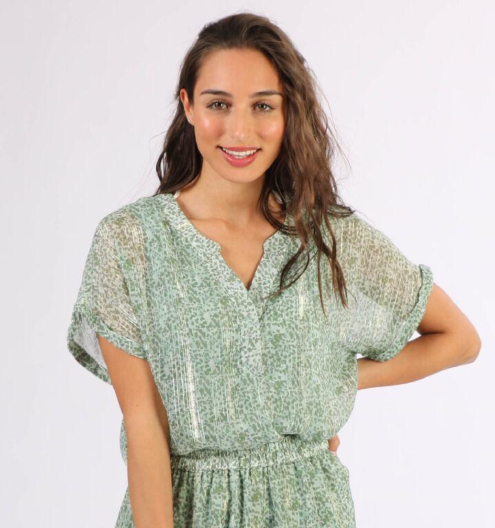 Vero Moda Lulu T-shirt en Vert