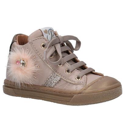 Romagnoli Chaussures hautes en Rose en cuir (259620)