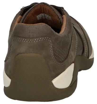 Camel Active Chaussures basses en Taupe en daim (246641)