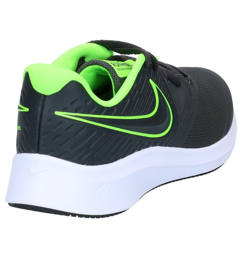 Nike Star Runner Zwarte Sneakers in stof (274572)