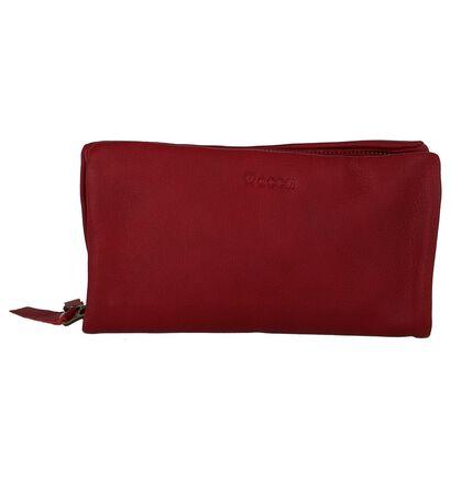 Mocca Sacs porté croisé en Rouge foncé en cuir (235864)