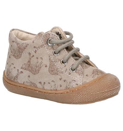 Naturino Chaussures basses en Beige foncé en nubuck (259886)