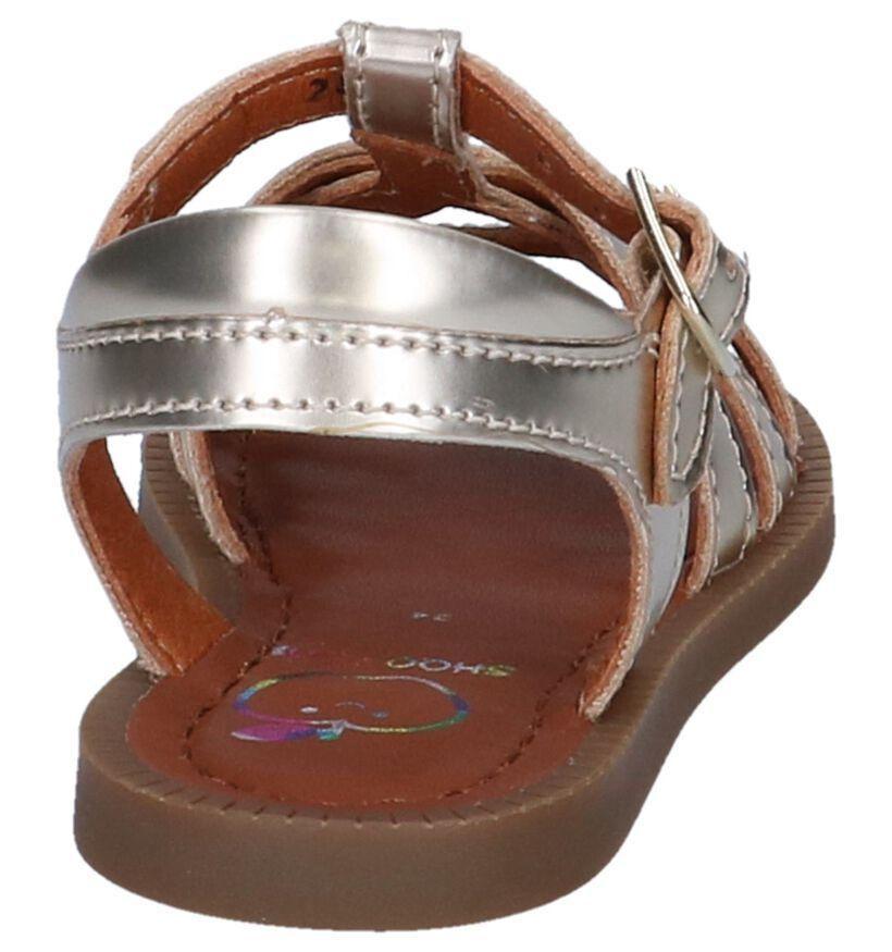 Shoo Pom Sandales en Or en simili cuir (247275)