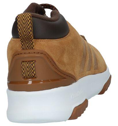 Cognac Lage Sportieve Sneakers adidas Cloudfoam Racer Mid , Cognac, pdp