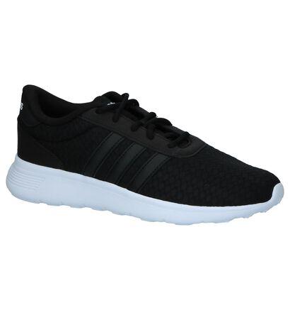 Zwarte Sneakers adidas Lite Racer in stof (237028)