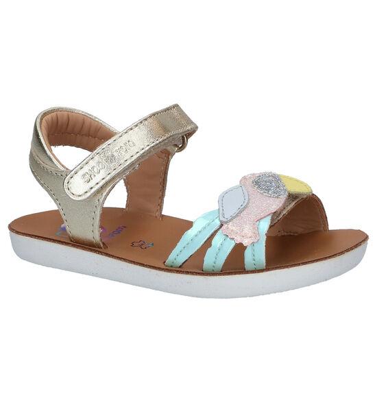 Shoo Pom Goa Toucan Gouden Sandalen