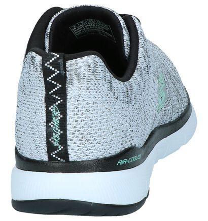 Zwarte Sneakers Skechers Flex Appeal, Grijs, pdp