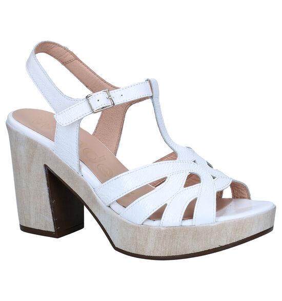 Wonders Witte Sandalen