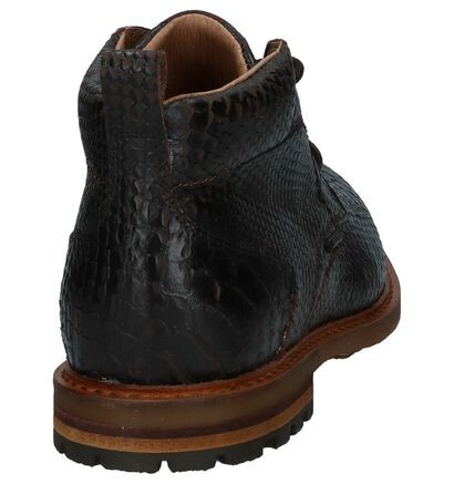 Donkerbruine Geklede Boots Scapa, Bruin, pdp