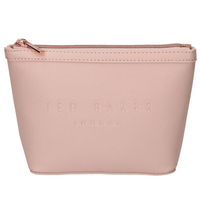 Ted Baker Neevie Trousse de maquillage en Noir en simili cuir (257669)