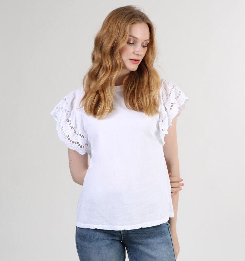 Dolce C. T-shirt en Blanc (301088)