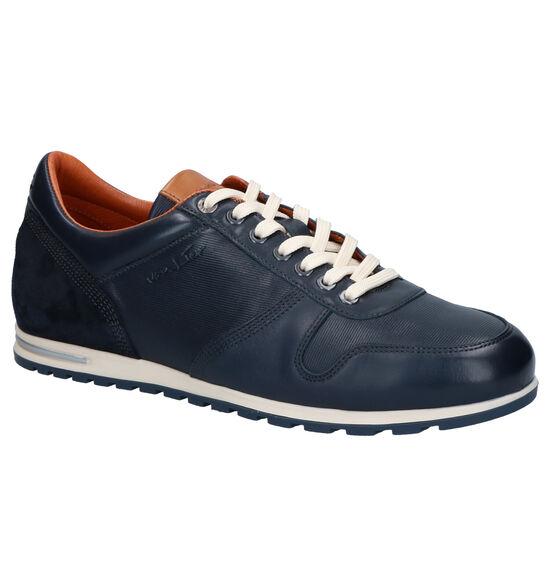 Van Lier Chaussures basses en Bleu foncé