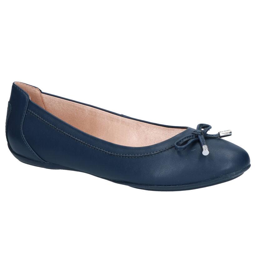 Geox Charlene Ballerines en Bleu en simili cuir (266830)