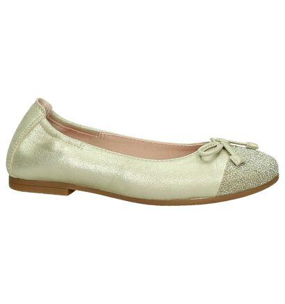 Gouden Ballerina Unisa in daim (195261)
