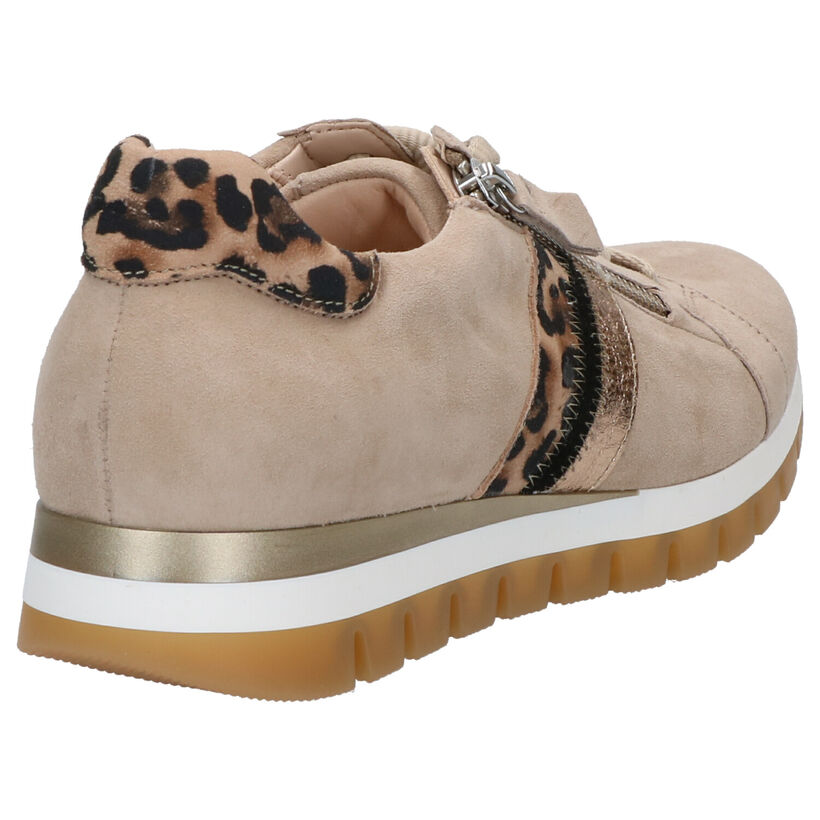 Gabor OptiFit Beige Veterschoenen in nubuck (271714)