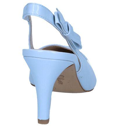 s.Oliver Escarpins à talon ouvert  (Bleu clair ), Bleu, pdp