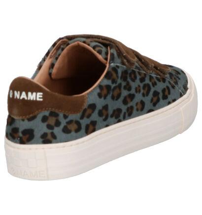 No Name Arcade Gele Sneakers in daim (261480)