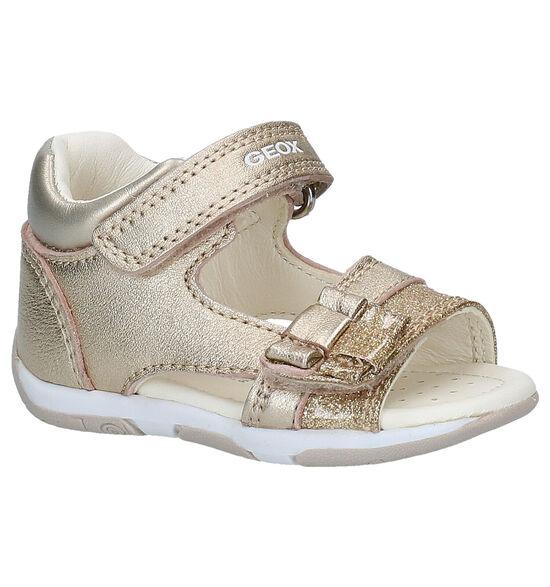 Geox Tapuz Gouden Sandalen