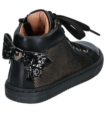 FR by Romagnoli Chaussures hautes en Noir en cuir (261140)