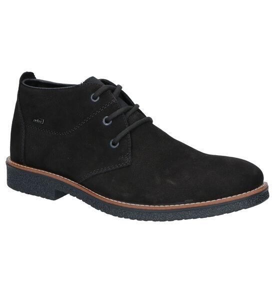 Rieker Chaussures hautes en Noir