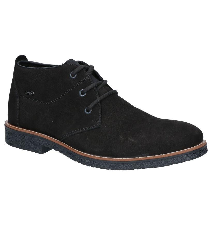 Rieker Chaussures hautes en Noir en nubuck (262164)