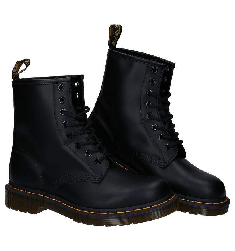 1460 Bottines en Noir en cuir (253127)