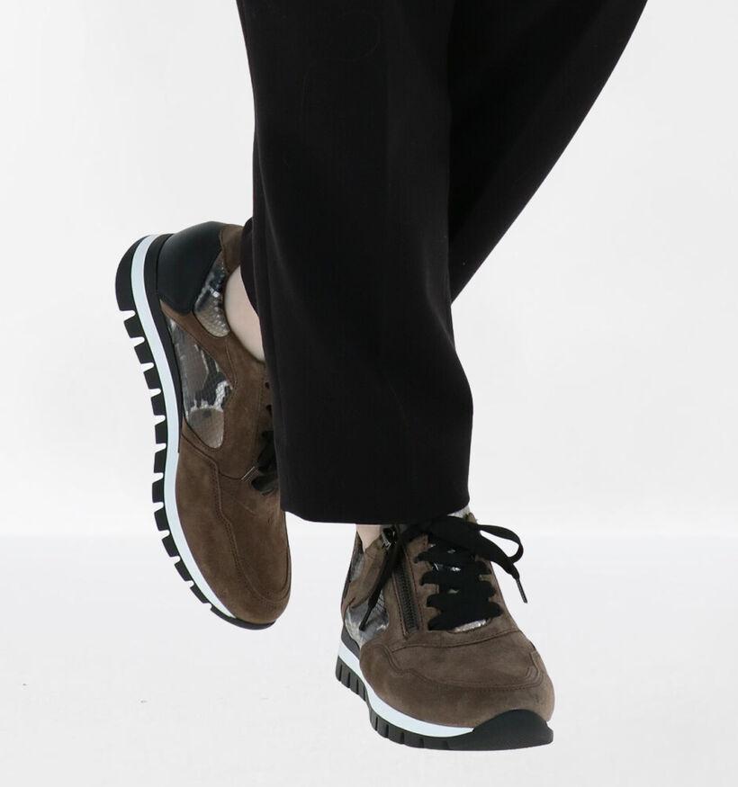 Gabor OptiFit Chaussures à lacets en Brun en daim (282325)