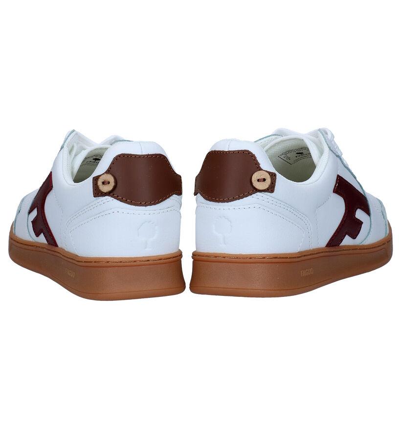 Faguo Hazel Baskets en Blanc en cuir (281034)