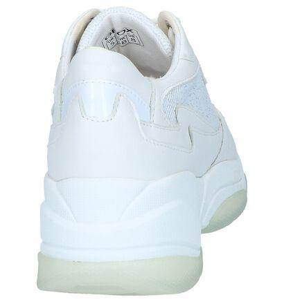 Witte Sneakers Geox in leer (241594)