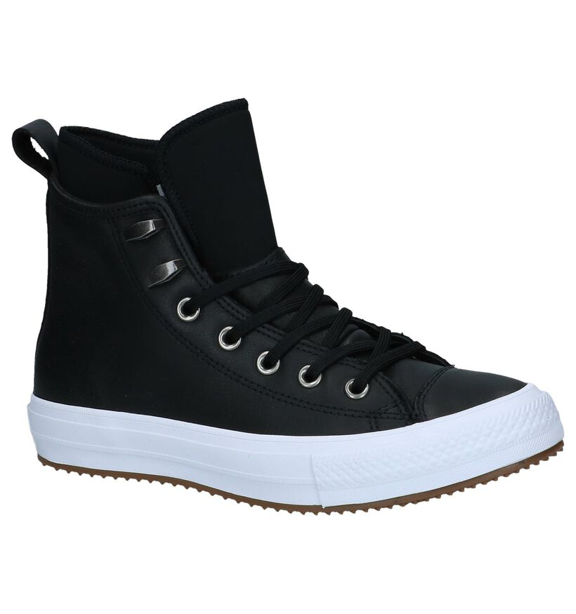 Chuck Taylor All Star Baskets slip-on en Noir en cuir (233387)