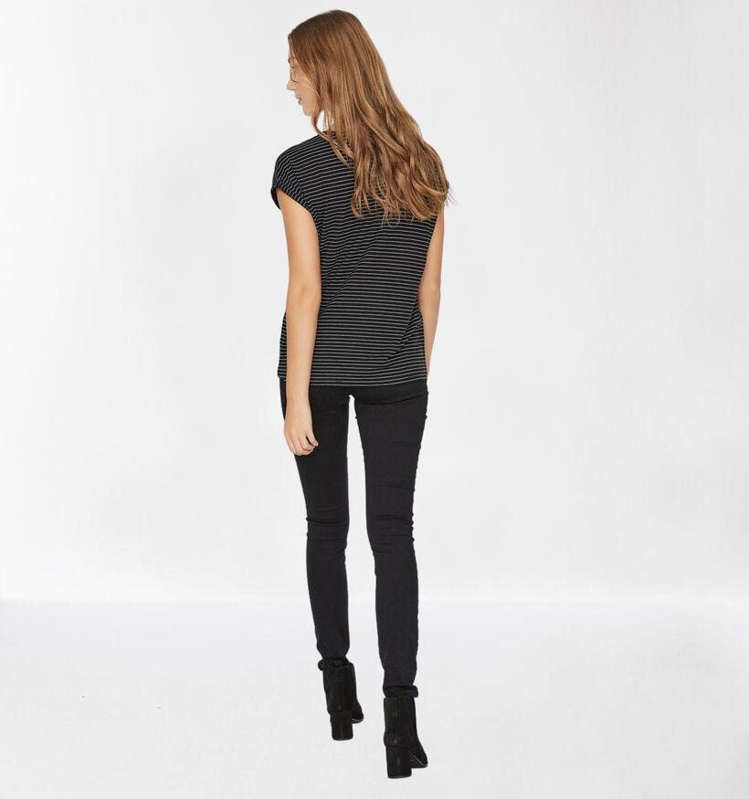 Vero Moda Mava T-shirt en Noir (285895)