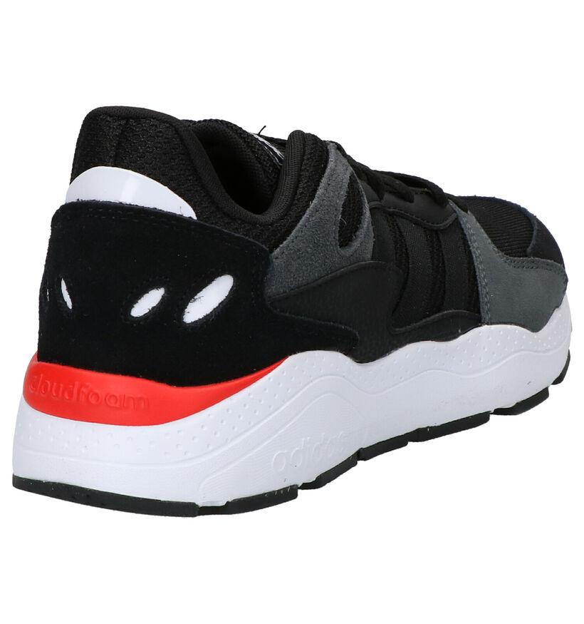 Zwarte Sneakers adidas Chaos in daim (252499)