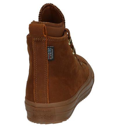 Cognac Sneakers Converse Chuck Taylor All Star High Waterproof in leer (205594)