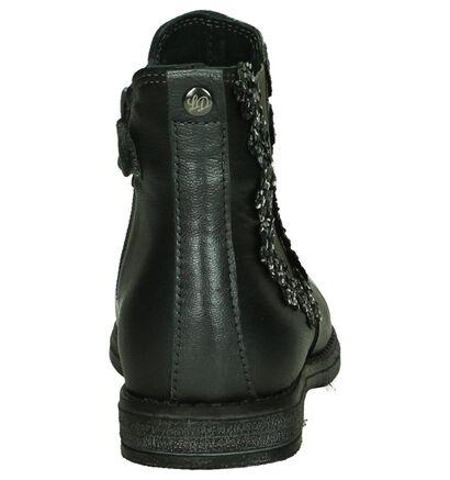 Little David Laila Zilveren Chelsea Boots in leer (205414)