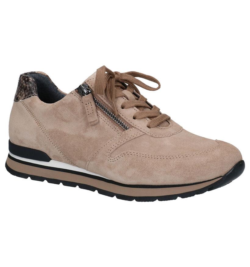 Gabor OptiFit Chaussures à Lacets en Jaune en daim (283812)
