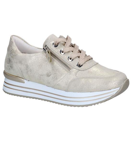 Remonte Chaussures à lacets en Or