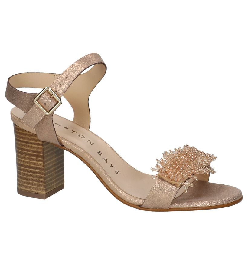 Hampton Bays Rose Gold Sandalen in leer (209720)