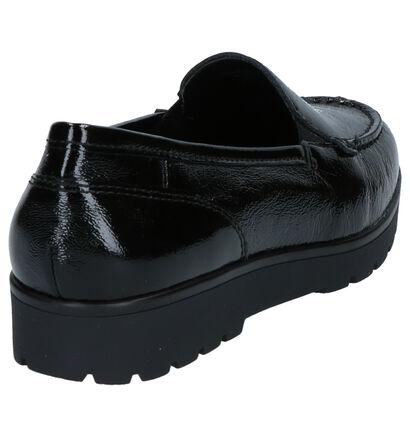 Ara Dallas High Soft Mocassins en Noir en cuir (260834)