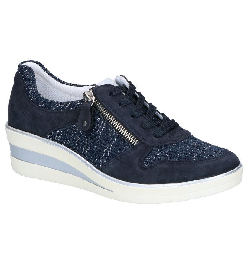 Remonte Chaussures à lacets en Blanc en cuir (271918)