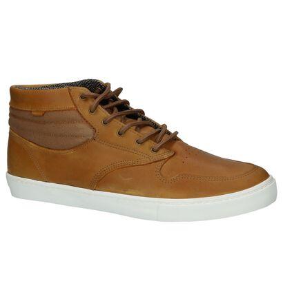 Element Skate sneakers en Cognac en cuir (200728)