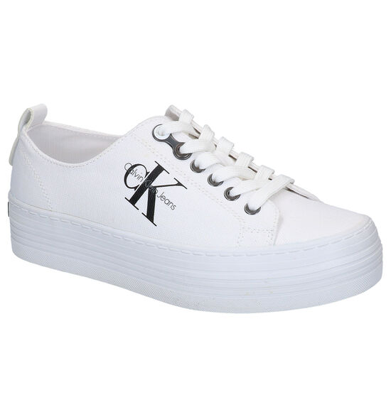 Calvin Klein Baskets basses en Blanc