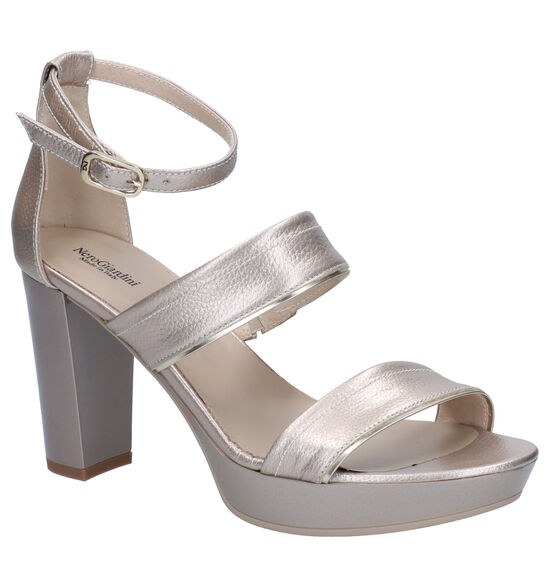 NeroGiardini Zilveren Sandalen